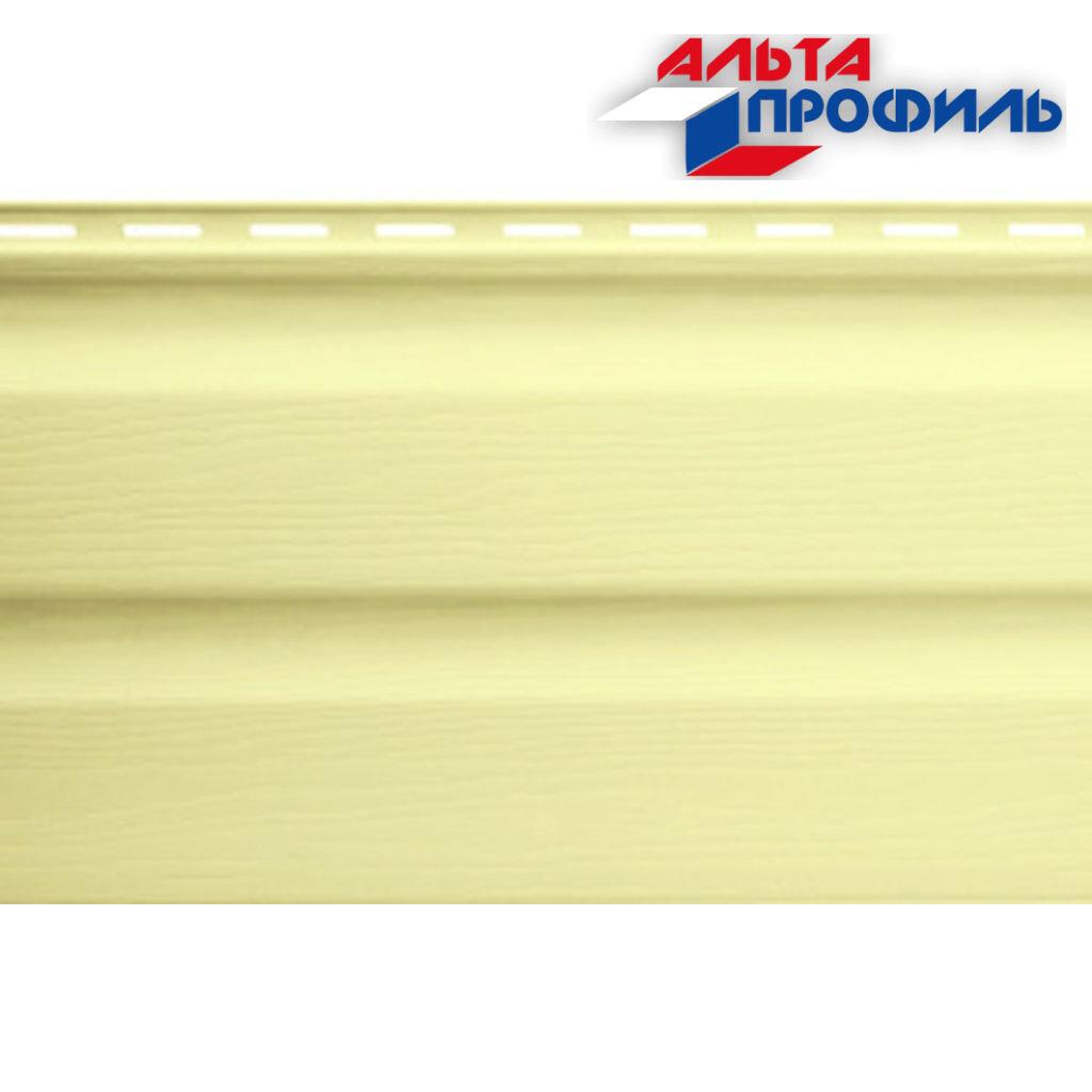 Виниловый Сайдинг: Альта-Сайдинг, виниловый, лимонный, 3,00м в АНЧАР,  строительные материалы
