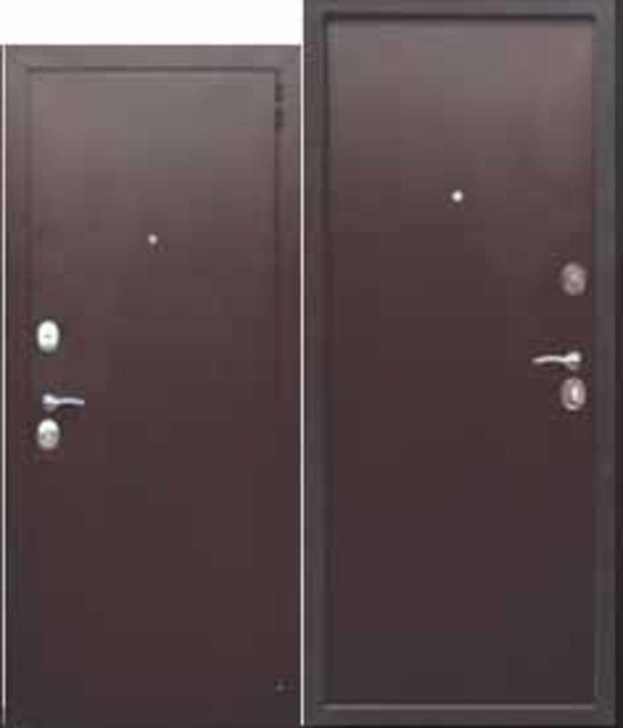 Двери завода Феррони: Гарда 7,5 см металл/металл в Модуль Плюс