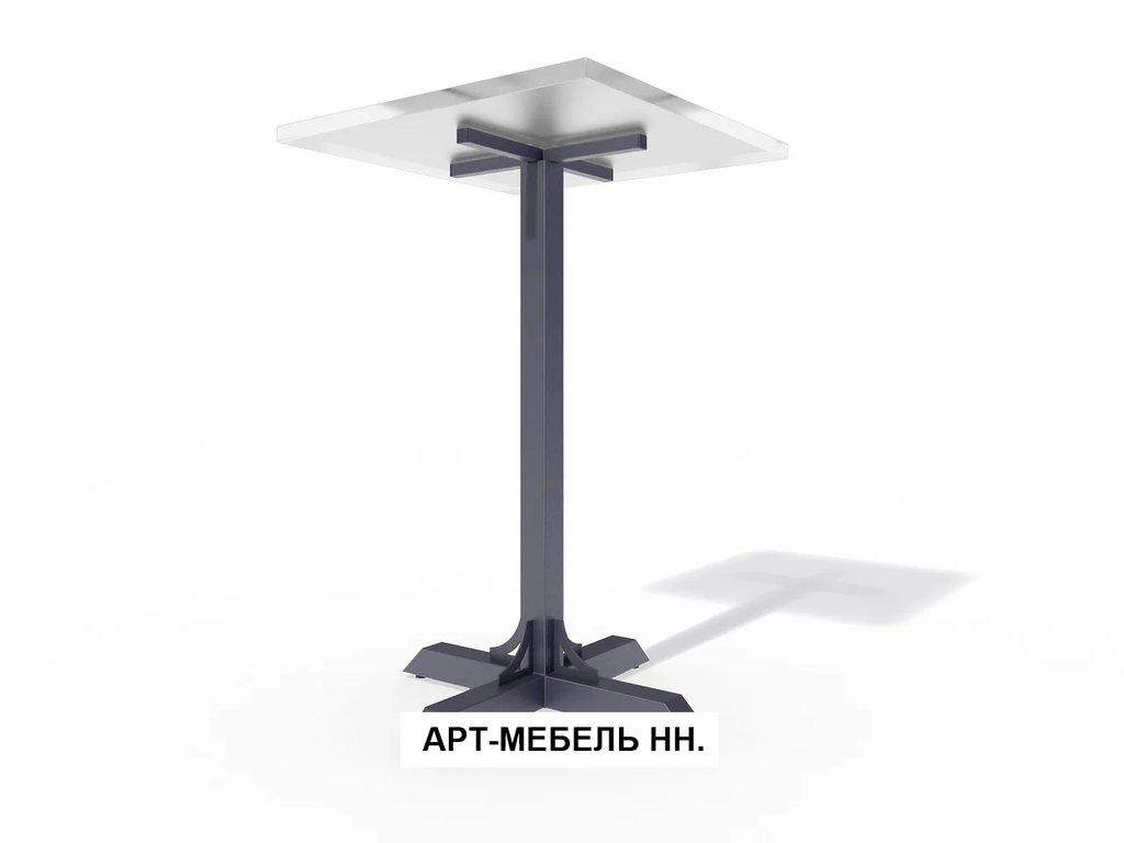 Подстолья для столов.: Подстолье барное 0.37 (чёрный) в АРТ-МЕБЕЛЬ НН