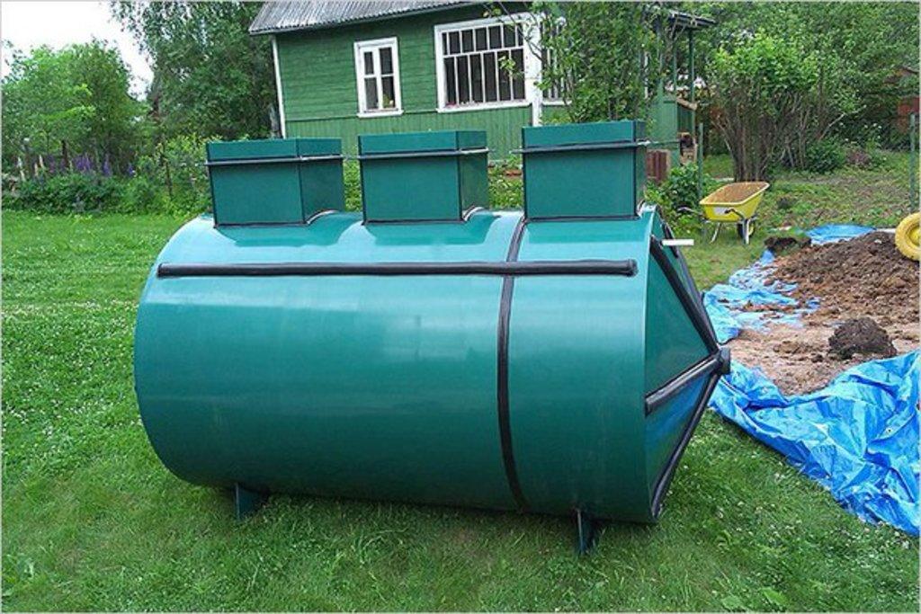 Септики «Лидер»: Септик Лидер-0,6 в Аквамарин, бурение скважин на воду в Вологде