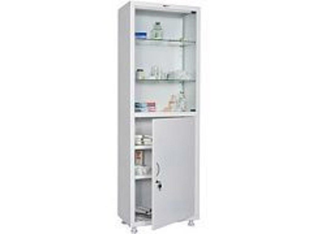 Шкафы медицинские металлические: Шкаф медицинский HILFE МД 1 1760/SG в Техномед, ООО