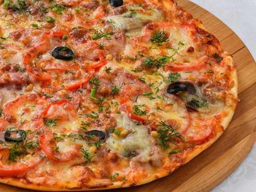 Пицца: Пицца с языком и беконом в Провиант