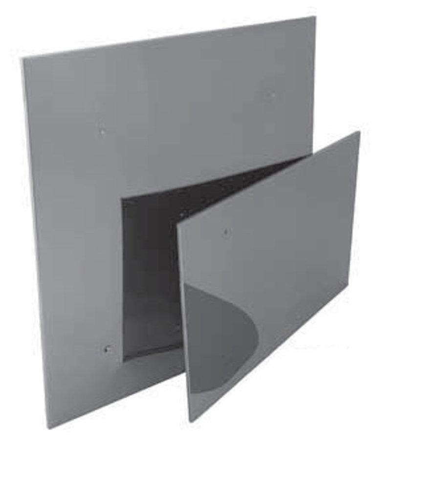 Печи и дымоходы: Экран Феррум защитный нерж.(430/0,5 мм), 600*1000 в Погонаж