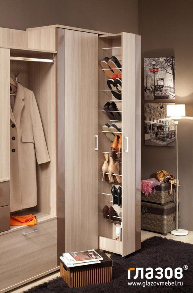 Мебель для прихожей BERLIN (Берлин). Композиция 1. Модули: Шкаф для обуви BERLIN 23 (прихожая) в Диван Плюс