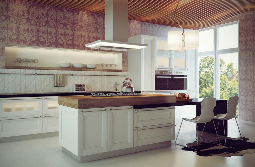 Кухни: Кухня Марсель 3 Мрамор в Стильная мебель