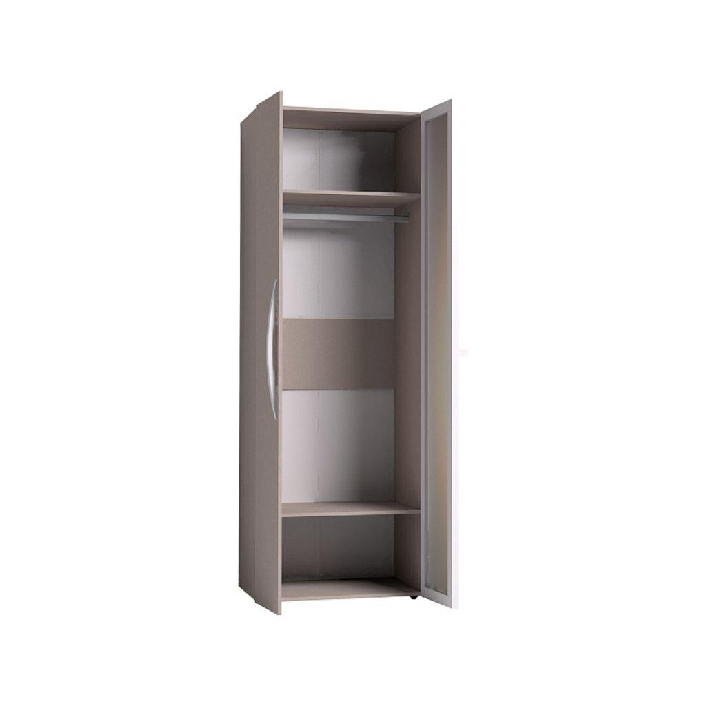 Мебель для спален, общее: Шкаф для одежды Brownie 54 (ФАСАД Стандарт + Зеркало) в Стильная мебель