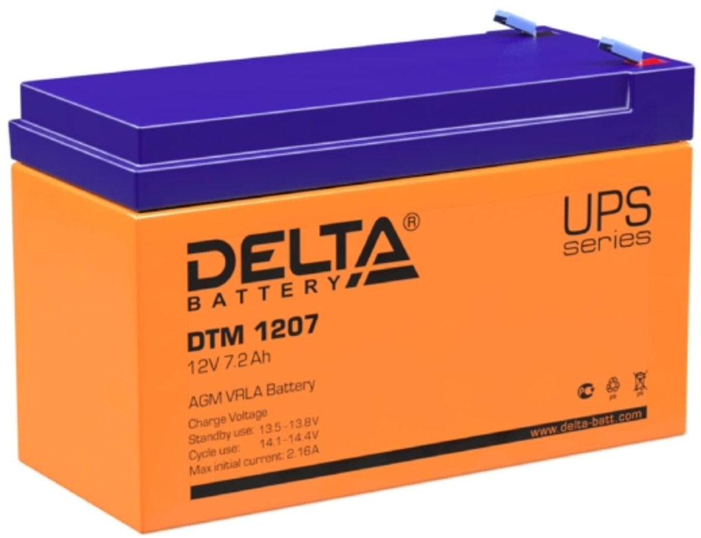 Delta: DELTA DTM 1207 в БазаАКБ