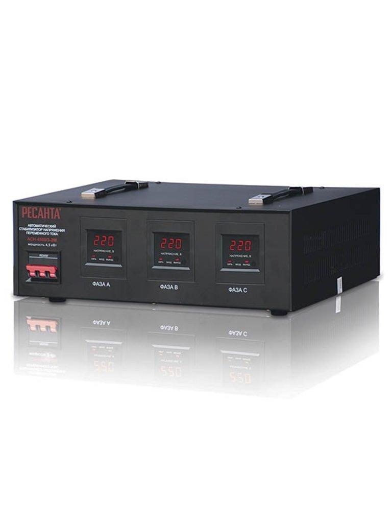 Электромеханического типа: Трехфазный стабилизатор электромеханического типа РЕСАНТА АСН-4500/3-ЭМ в РоторСервис, сервисный центр, ИП Ермолаев Д. И.