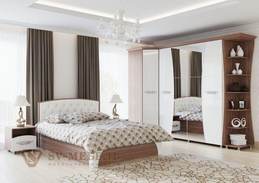 Мебель для спальни Лагуна-7: Угловое окончание Лагуна-7 в Диван Плюс