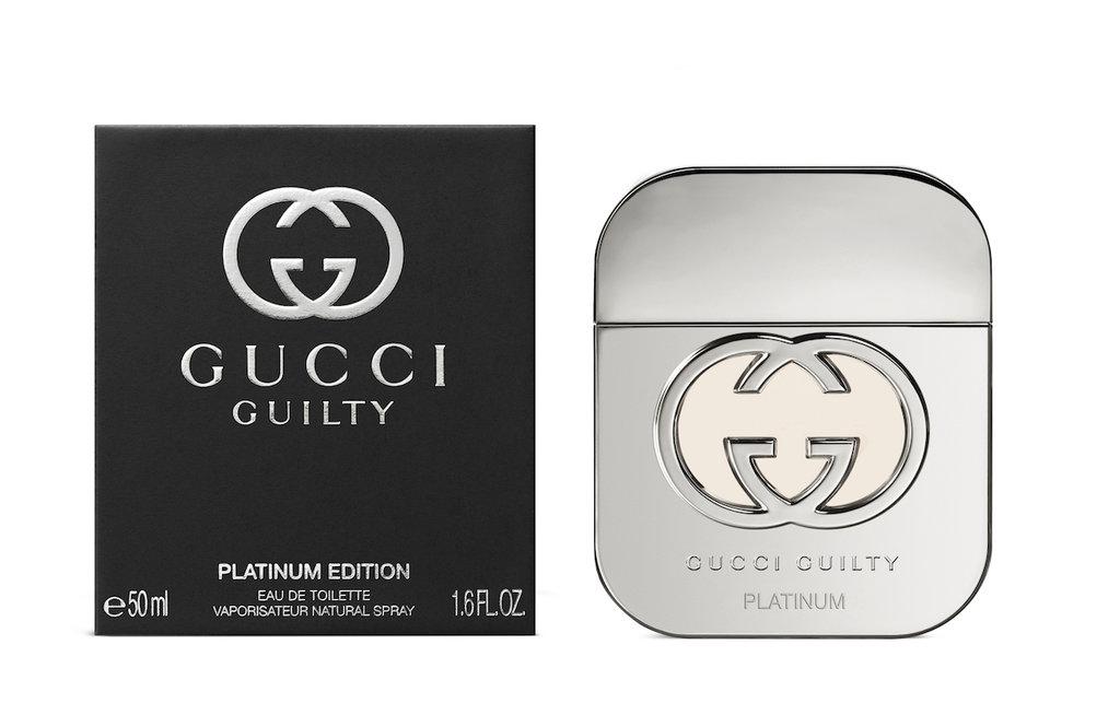 Женская парфюмерная вода Gucci: Gucci Guilty Platinum Туалетная вода edt ж 50 ml в Элит-парфюм