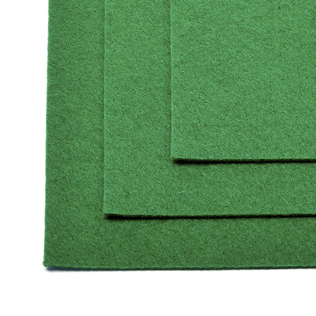 Фетр: IDEAL Фетр жёсткий 1мм 20*30см зелёный 1лист в Шедевр, художественный салон