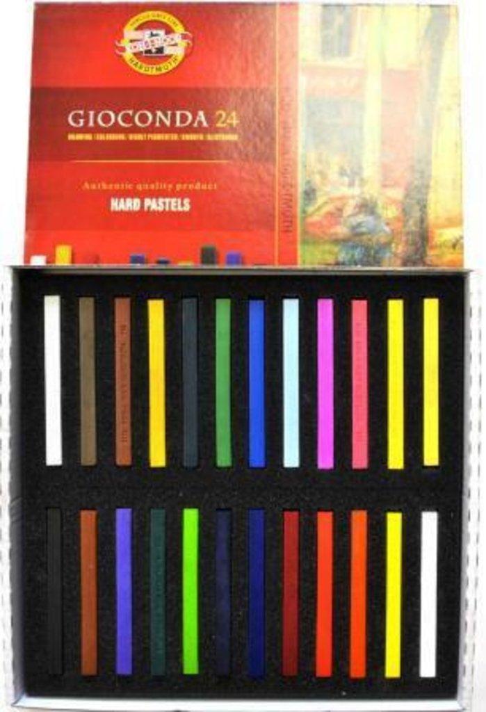 """наборы: Набор масляной твердой пастели для художника, """"Gioconda"""" 24 цвета  KOH-I-NOOR в Шедевр, художественный салон"""