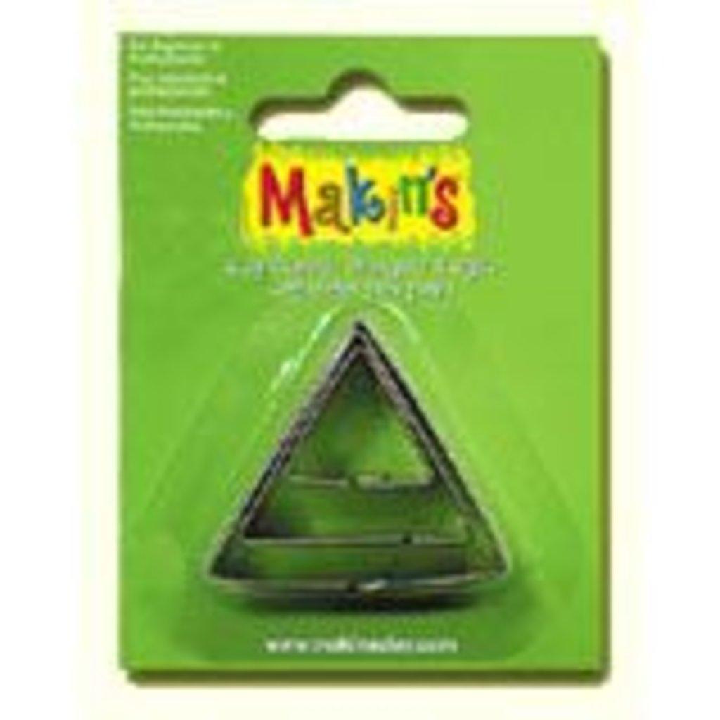 """Инструменты для лепки: Набор резцов для полимерной глины Makins """"Треугольник"""" в комплекте 3шт. в Шедевр, художественный салон"""