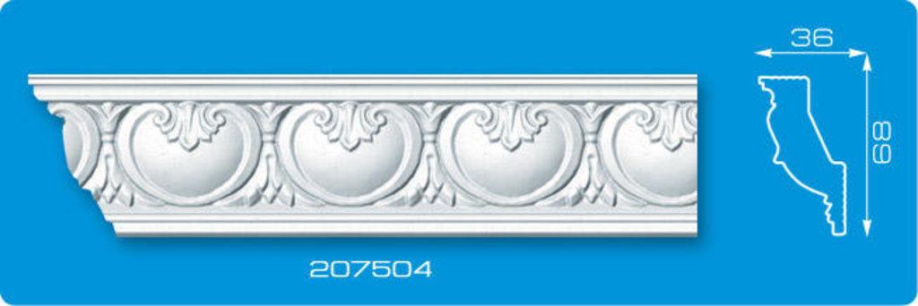 Плинтуса потолочные: Плинтус потолочный ФОРМАТ 207504 инжекционный длина 2м в Мир Потолков