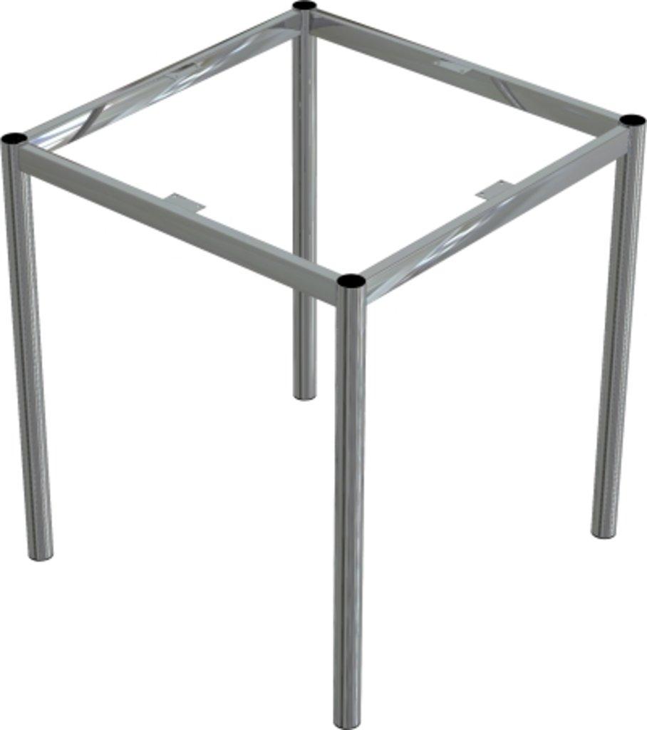 Столы для ресторана, бара, кафе, столовых.: Стол квадрат 90х90, подстолья № 8 серая в АРТ-МЕБЕЛЬ НН