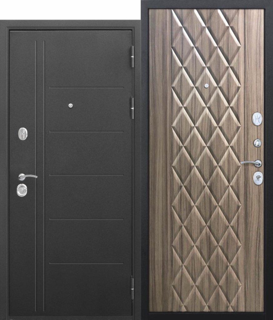 Двери завода Феррони: 10 см Троя Муар Палисандр темный в Модуль Плюс