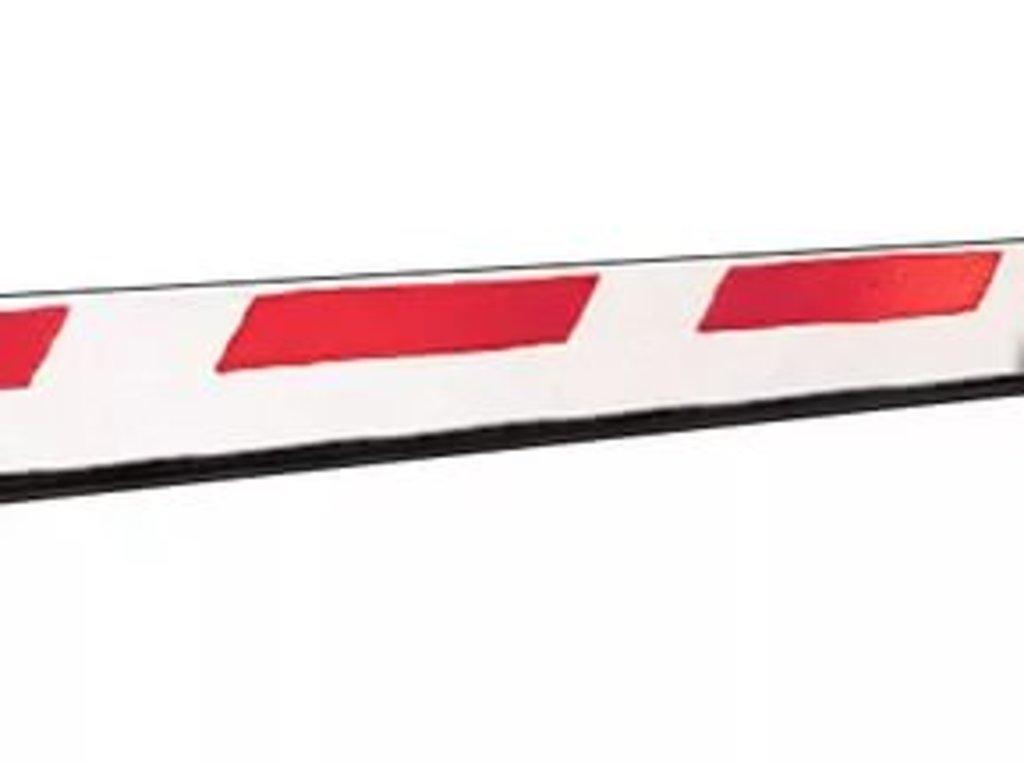 Автоматический шлагбаум и комплектующие: Стрела алюминиевая FAAC 5м с резиновой накладкой в АБ ГРУПП
