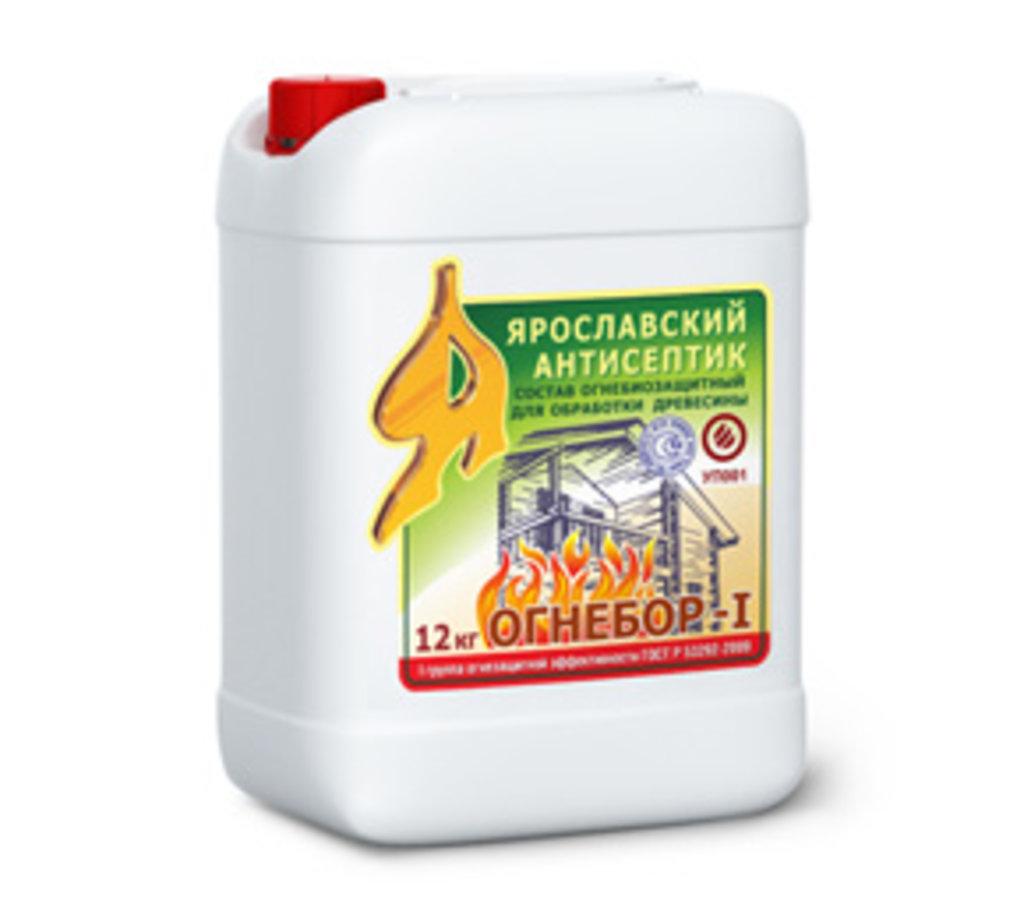 Грунтовки: Огнебиозащитный состав для дерева ОГНЕБОР-I в АНЧАР,  строительные материалы