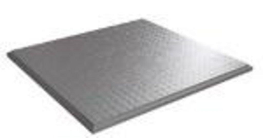 Кассетные металлические потолки: Кассетный потолок Cesal   Line 600*600 Line белый матовый 3306 перф. в Мир Потолков