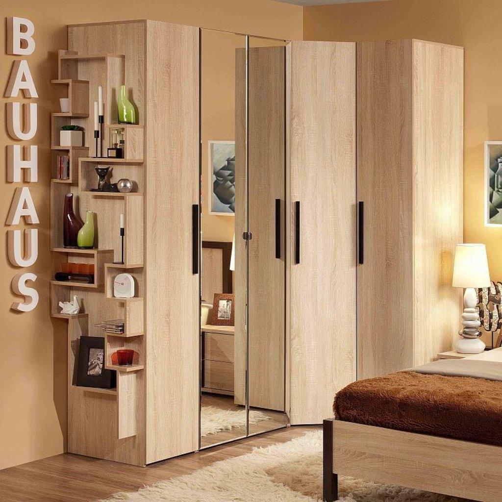 Шкафы для спальни: Шкаф угловой BAUHAUS 12 в Стильная мебель