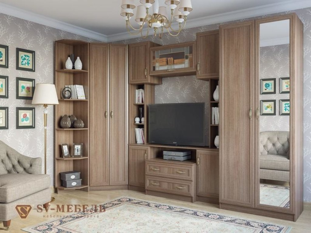 Мебель для гостиной Вега: Угловое окончание ВМ-09 Вега в Диван Плюс