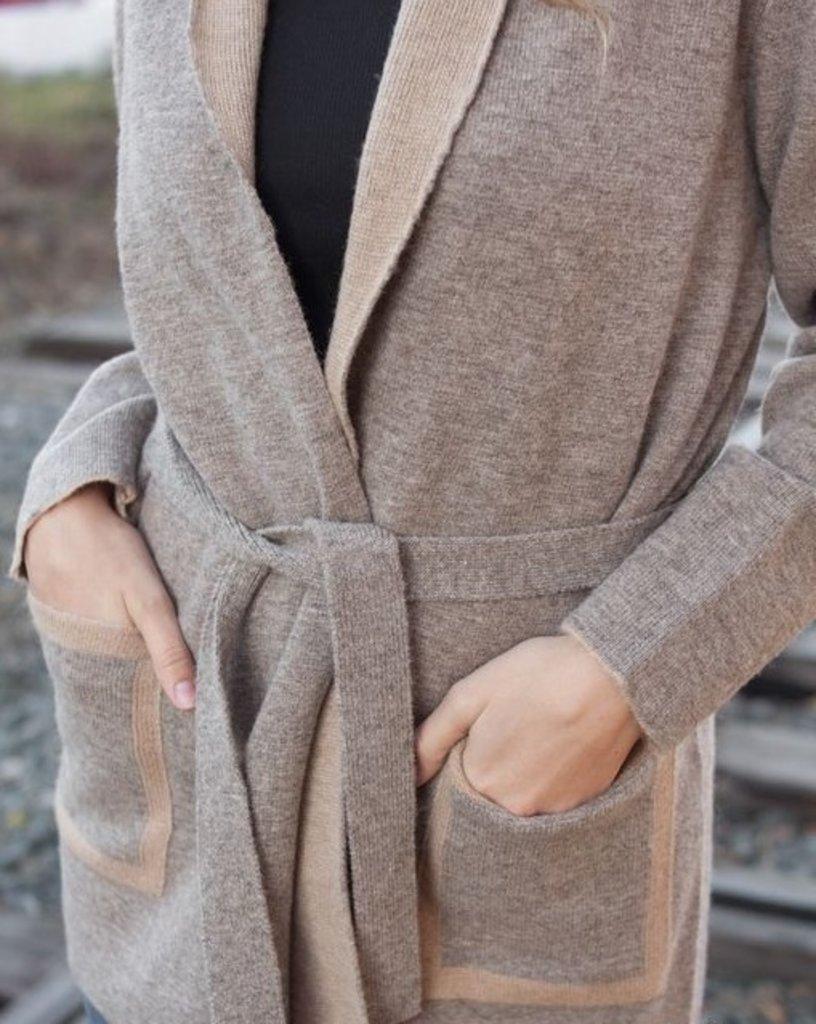 Женская одежда: Кардиган из шерсти верблюда и овцы в Сельский магазин
