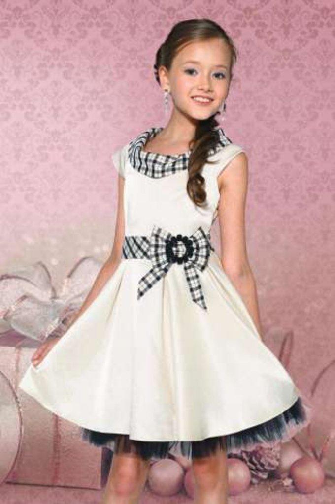 Платья и сарафаны для девочек: Платье Dools-Girls 419 в Чиполлино,  магазин детской одежды