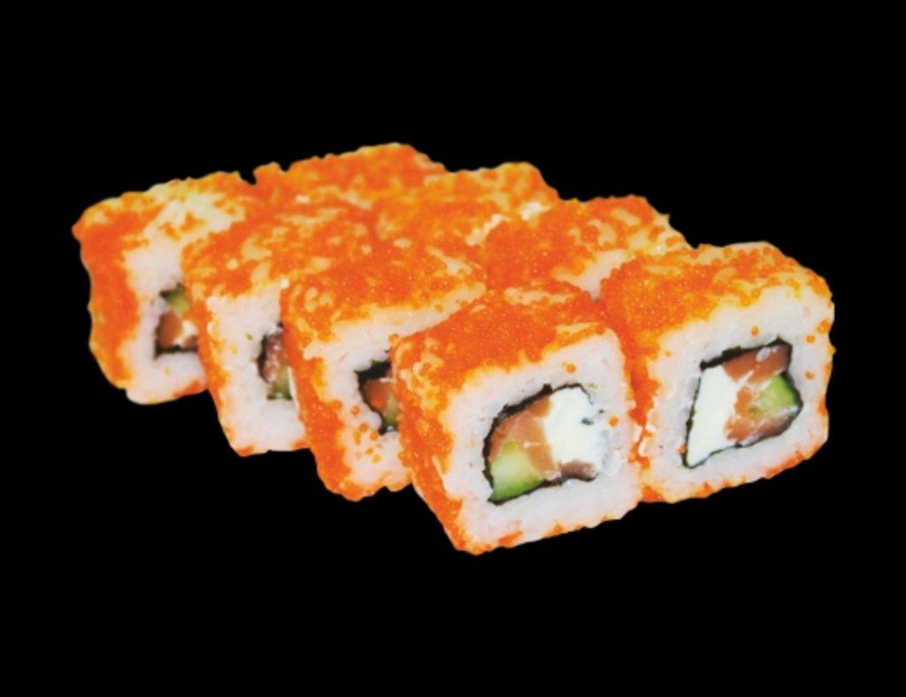 Роллы: Калифорния с лососем в ХИТО СУШИ