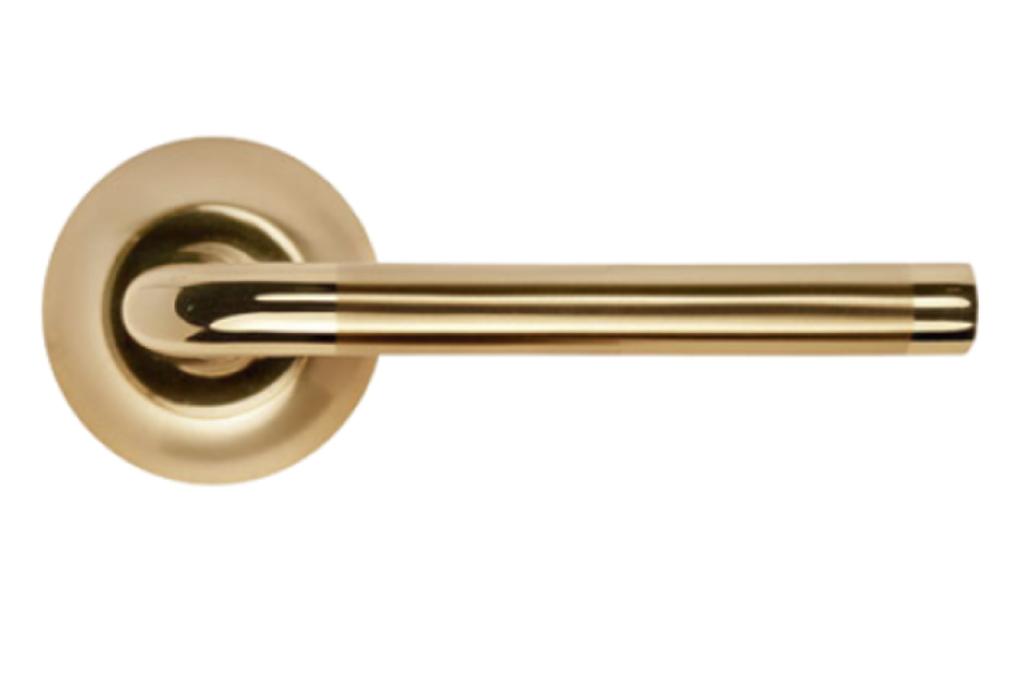 Ручки: Ручка Морелли MH-03 DIY SG -GP в Двери в Тюмени, межкомнатные двери, входные двери