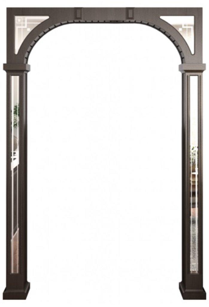 Межкомнатные арки: Межкомнатная арка  ЛЮКС в Двери в Тюмени, межкомнатные двери, входные двери
