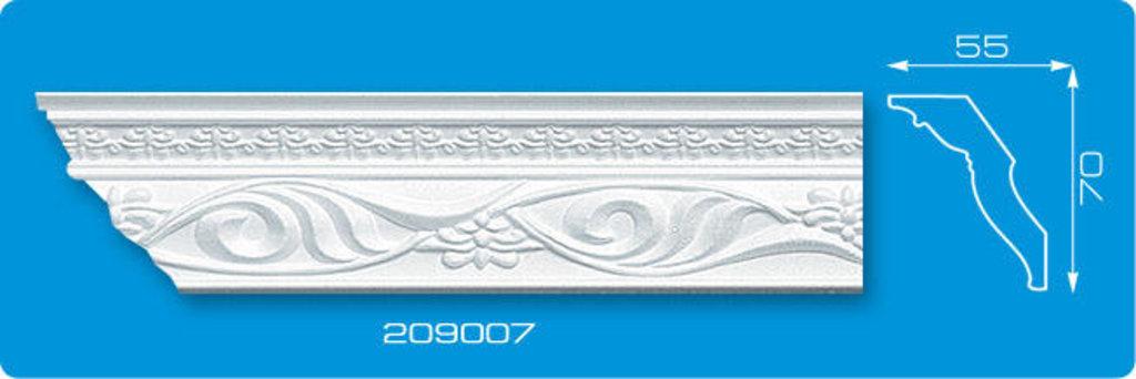 Плинтуса потолочные: Плинтус потолочный ФОРМАТ 209007 инжекционный длина 2м в Мир Потолков