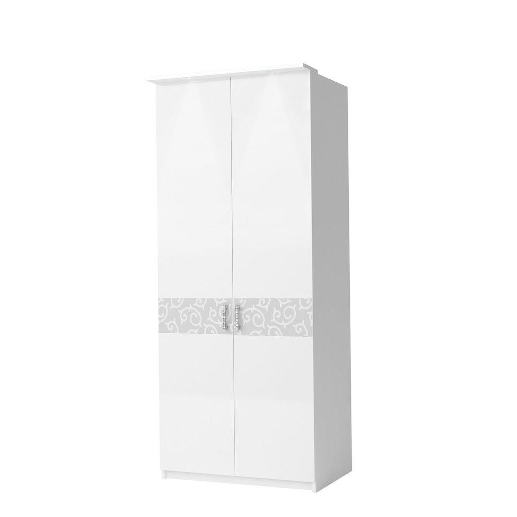 Шкафы для спальни: Шкаф 2-дверный Белла Вайт в Стильная мебель