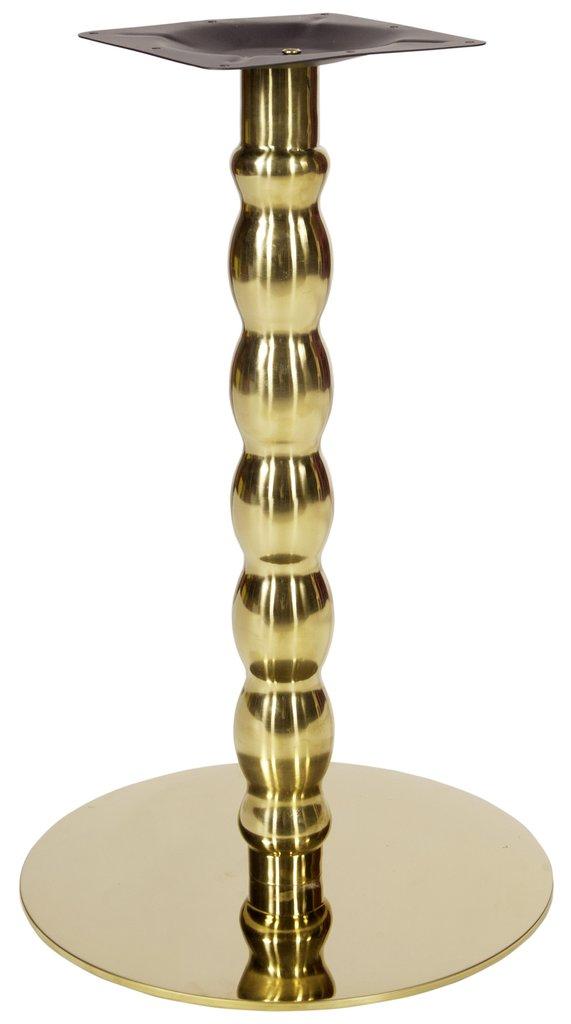Подстолья для столов.: Подстолье 1287ЕМ (хром золото) в АРТ-МЕБЕЛЬ НН