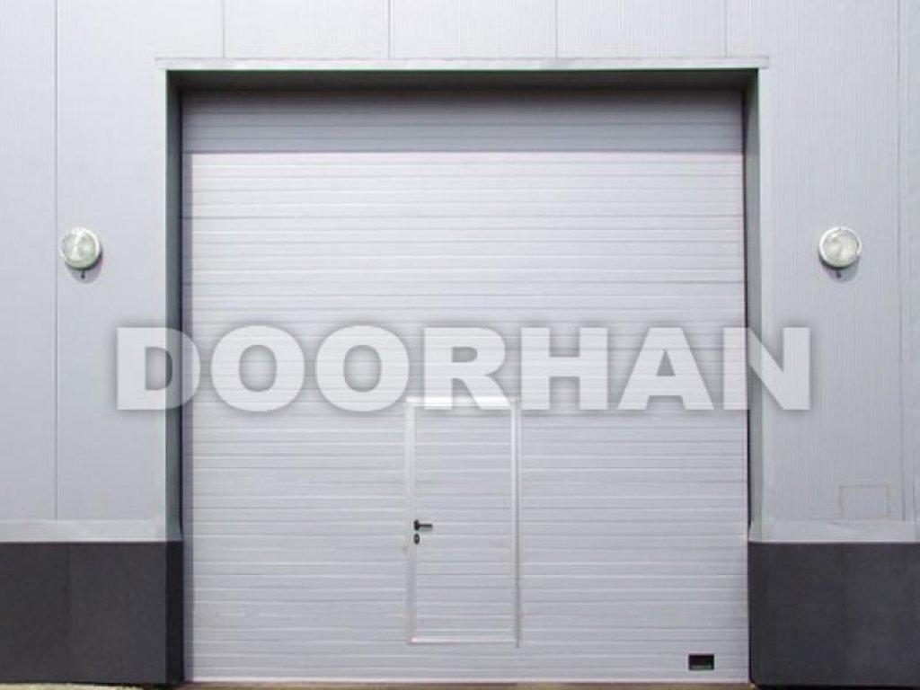 Встроенные калитки Alutech: Калитка встроенная Doorhan (в комплекте с воротами) в АБ ГРУПП