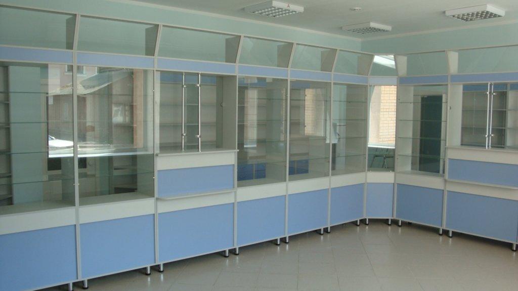 Мебель для аптеки: Мебель для аптек Лагуна в Студия Мебели