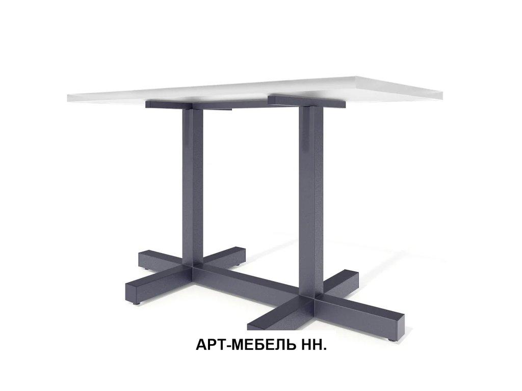 Подстолья для столов.: Подстолье 00.7 (чёрный) в АРТ-МЕБЕЛЬ НН