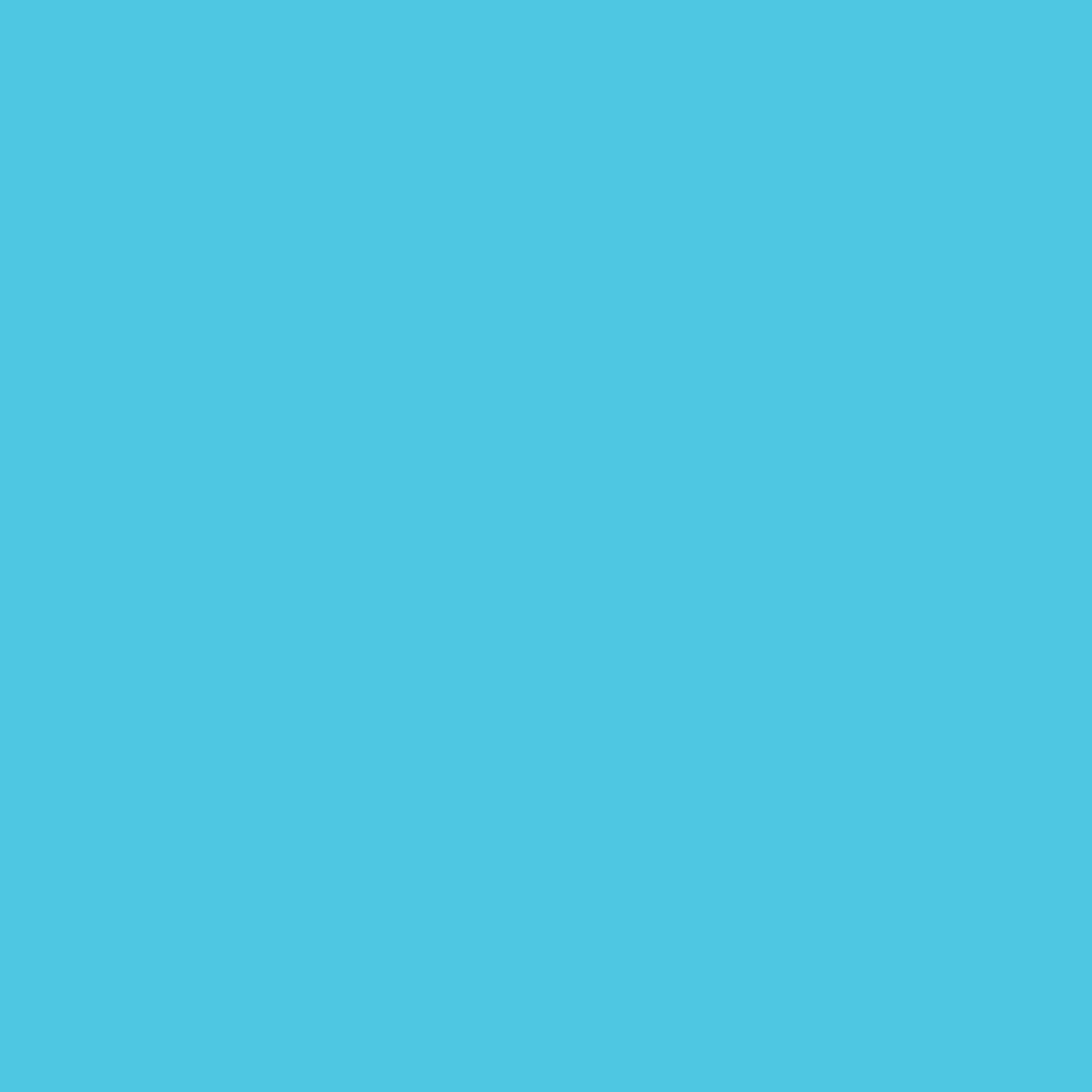 FOLIA Цветная бумага, 130 гр/м2, 50х70см, голубой небесный, 1 лист в Шедевр, художественный салон