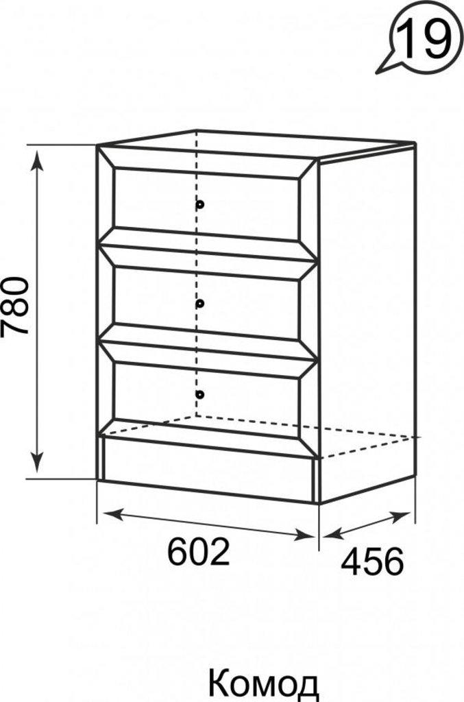 Комоды для дома: Комод 19 Брайтон в Стильная мебель