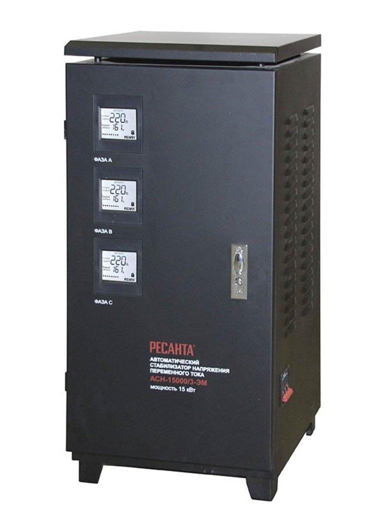 Электромеханического типа: Трехфазный стабилизатор электромеханического типа РЕСАНТА АСН-6000/3-ЭМ в РоторСервис, сервисный центр, ИП Ермолаев Д. И.