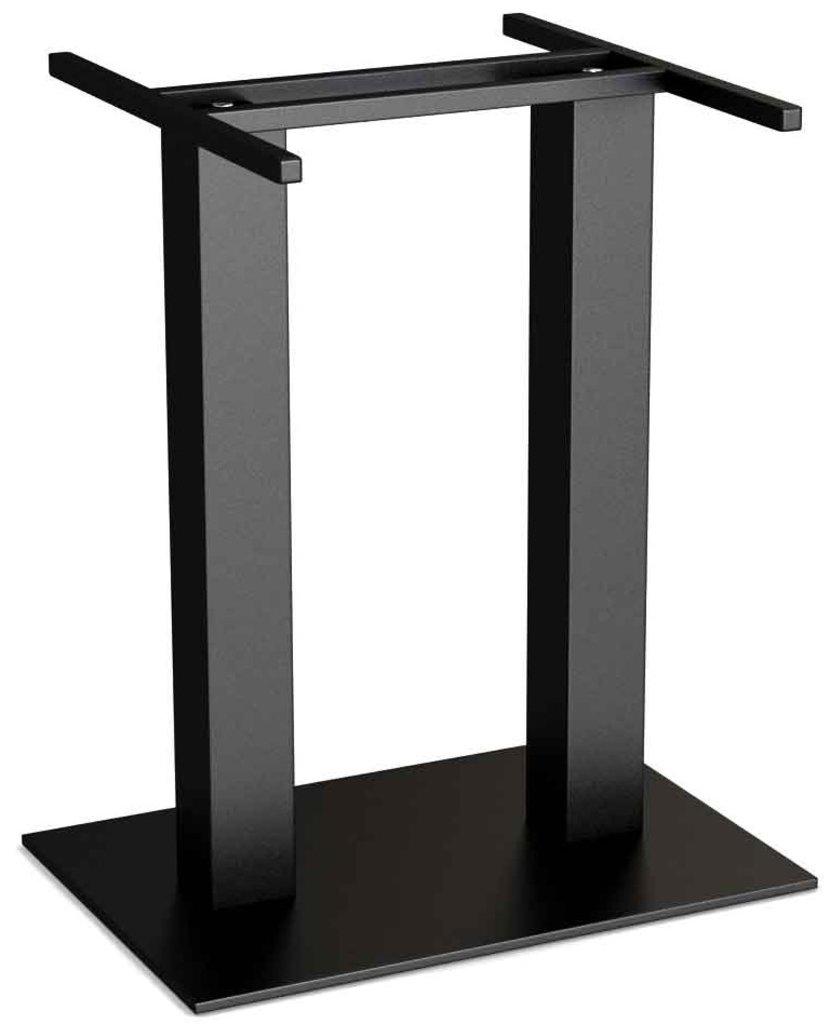 Столы для ресторана, бара, кафе, столовых.: Стол прямоугольник 110х70, подстолья 01 С-2.60 чёрная в АРТ-МЕБЕЛЬ НН
