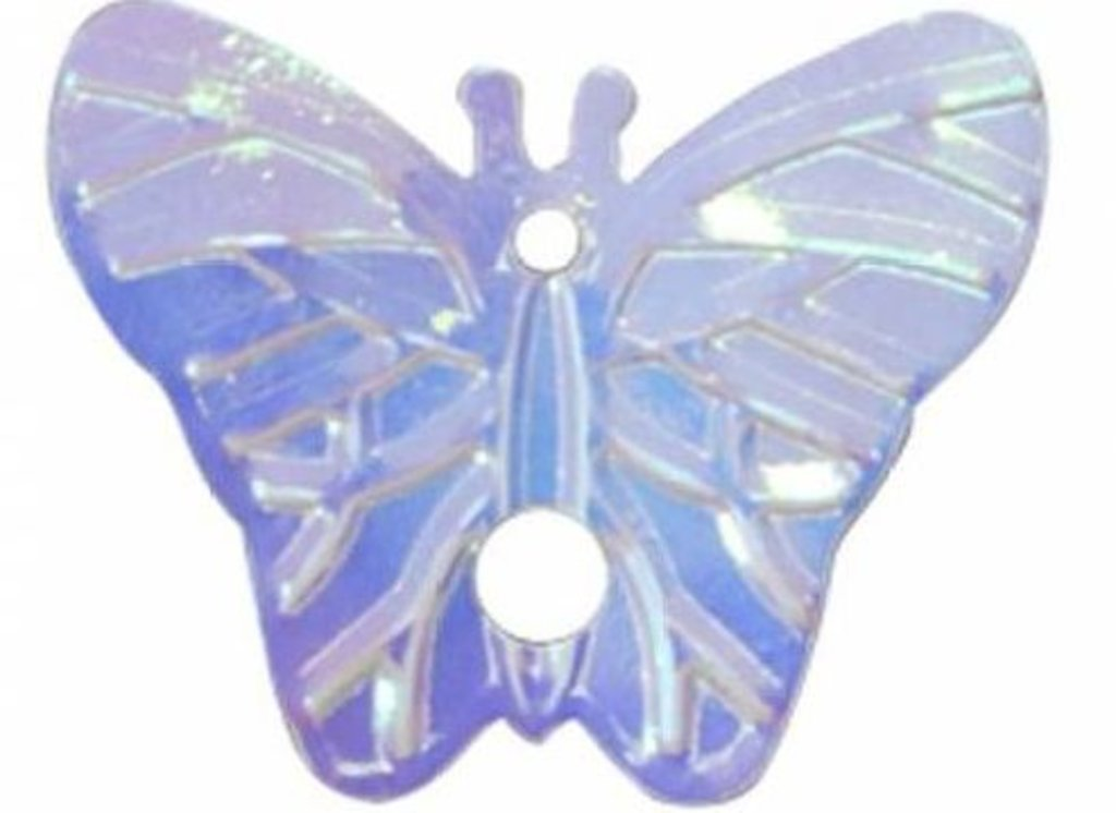 Бабочки: Пайетки бабочки,18*23мм.,упак/10гр.Астра(цвет 23 сиреневый голограмма) в Редиант-НК