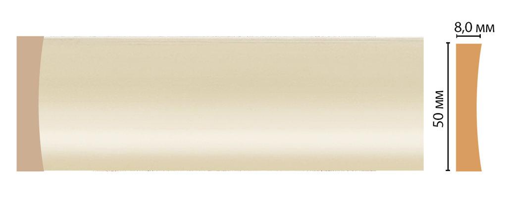 Молдинги: Цветной молдинг DECOMASTER D045-61 (50*8*2400) в Мир Потолков