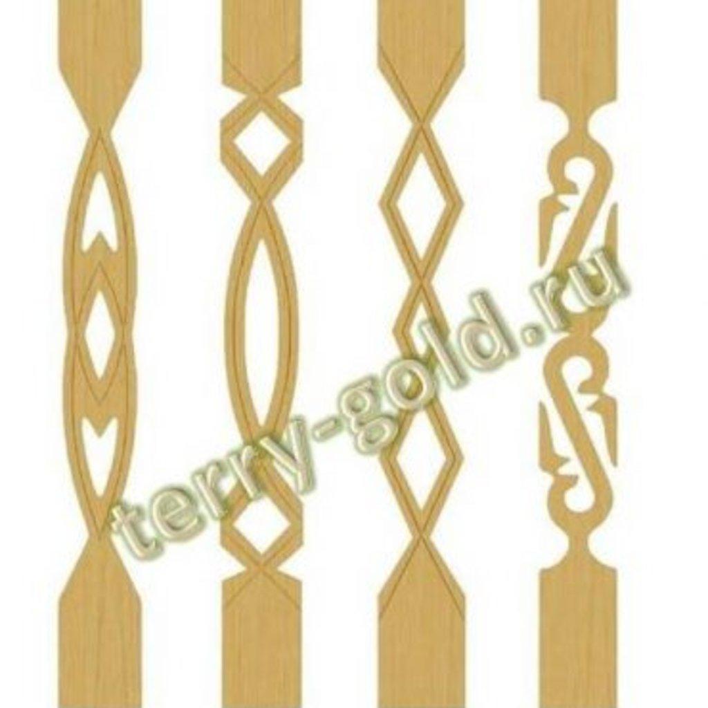 Прорезные и декоративные изделия: Балясины в Terry-Gold (Терри-Голд), погонажные изделия