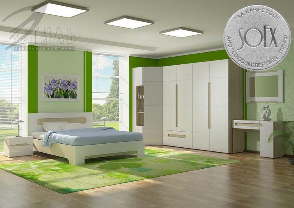 Мебель для спальни Палермо: Зеркало навесное Палермо в Диван Плюс