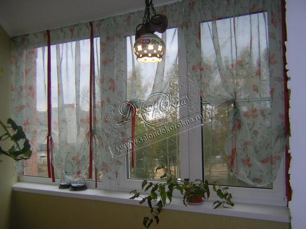 Шторы, портьеры: Шторы на кухню в Декор окна, салон