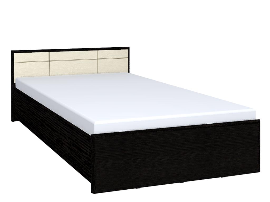 Кровати: Кровать АМЕЛИ 3 (1400, орт. осн. металл) в Стильная мебель