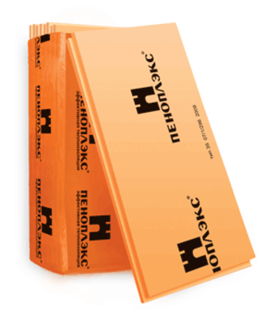 Пенопласт теплоизоляционный: Пеноплэкс 20х1185х585мм в 100 пудов