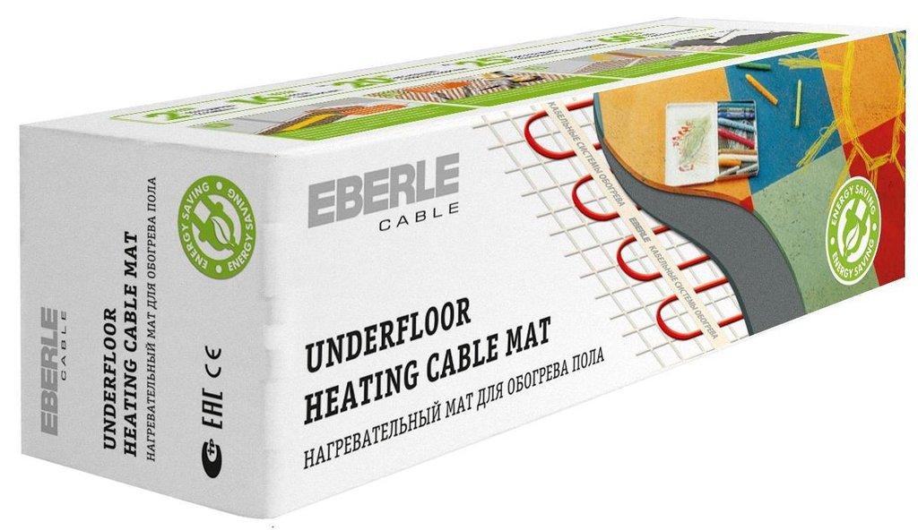 Мат нагревательный EBERLE: Мат EBERLE-cable D-mat 150/2.5-375 (2.5м.кв., 375Вт) в Теплолюкс-К, инженерная компания