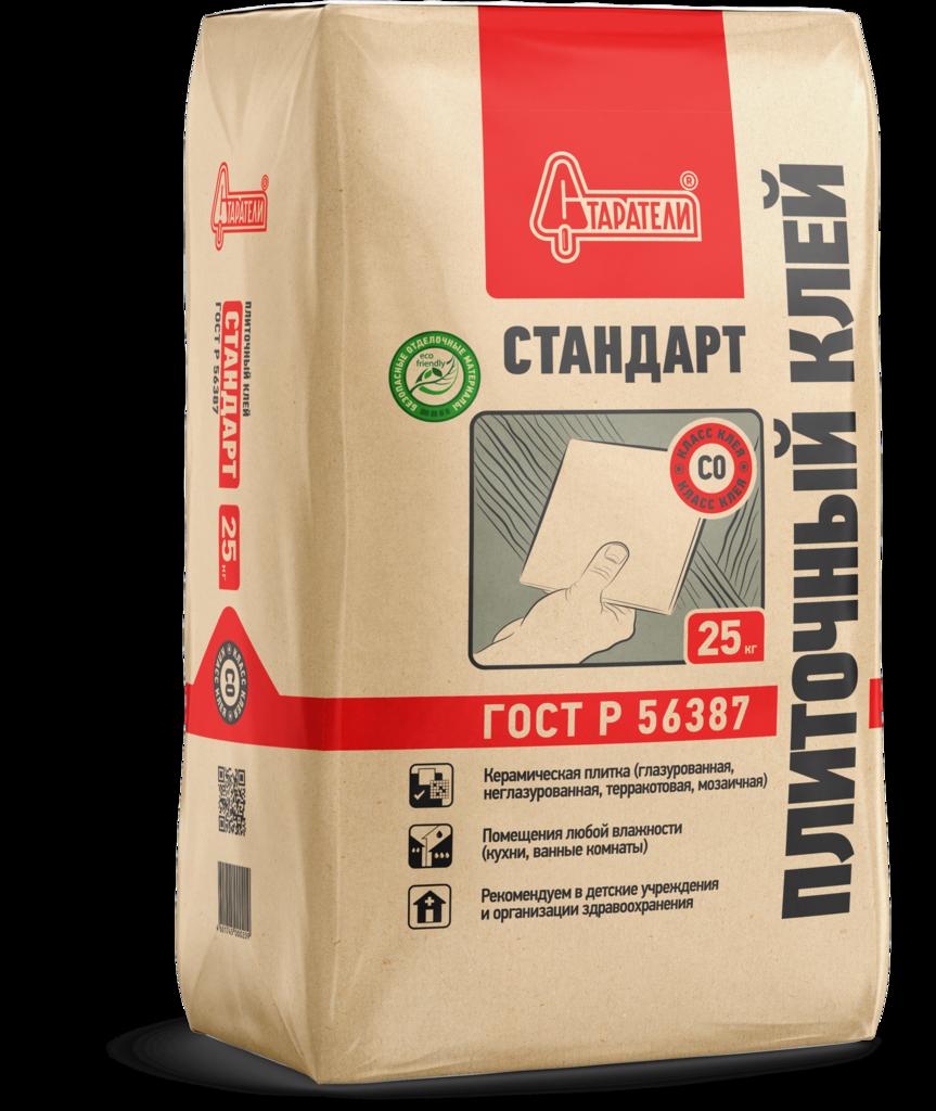 Клей плиточный: Клей плиточный Старатели Стандарт, 25 кг в АНЧАР,  строительные материалы