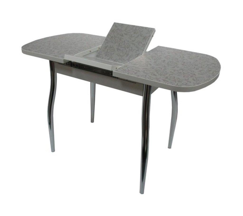 Столы кухонные.: Стол ПГ-35 раздвижной (хром) в АРТ-МЕБЕЛЬ НН
